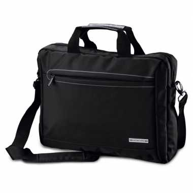 Documententas/laptoptas 15,6 inch zwart 10 liter