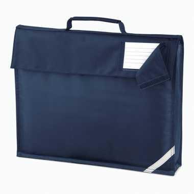 Donkerblauwe documententas 7 liter